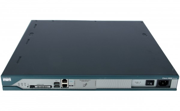 Cisco - C2811-SHDSL-V3/K9 - 2811 DSL bundle, WIC-1SHDSL-V3 (4-wire), SP Svcs, 64F/256D