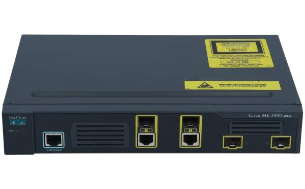 Cisco - ME-3400G-12CS-A - ME 3400 Series 12 Combo + 4 SFP AC