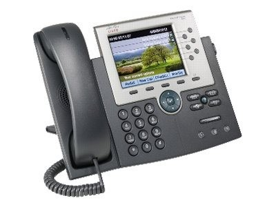 Cisco - CP-7965G-CH1 - Cisco IP Phone 7965, Gig, Color, with 1 RTU License