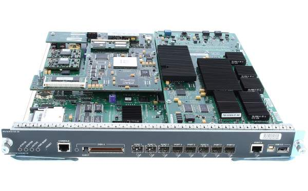 Cisco - WS-SUP32-GE-3B - Catalyst 6500 Supervisor 32 with 8 GE uplinks and PFC3B