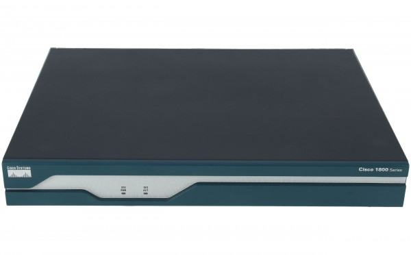 Cisco - CISCO1801/K9 - ADSL/POTS Router with Firewall/IDS and IPSEC 3DES