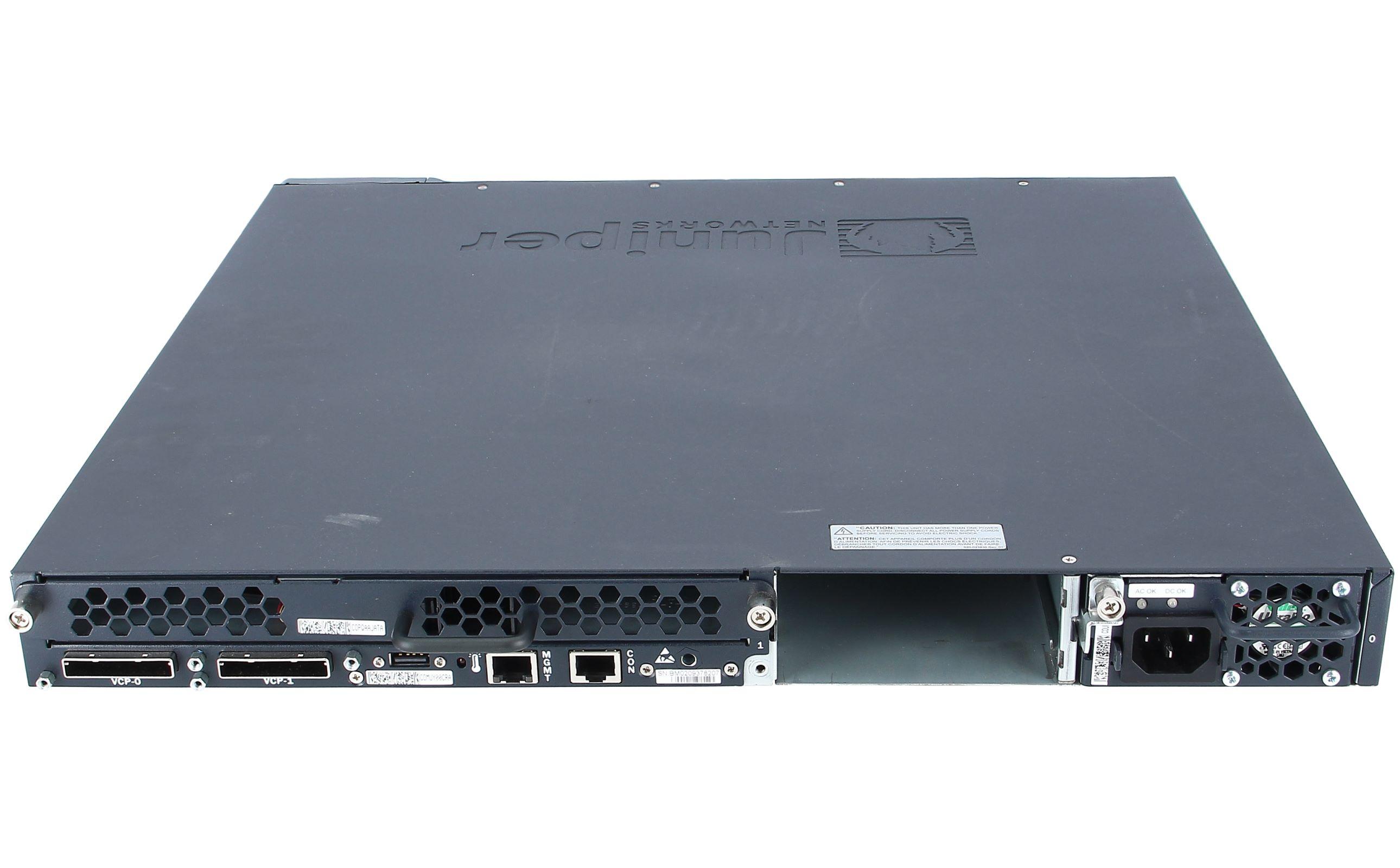 Juniper EX4200-48T 48 Port Gigabit Ethernet Switch w// EX-UM-2X4SFP Dual 8 POE