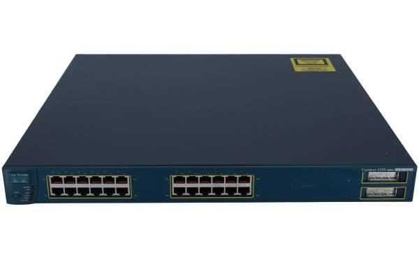 Cisco - WS-C3550-24PWR-EMI - 24-10/100 inline power + 2 GBIC ports: EMI