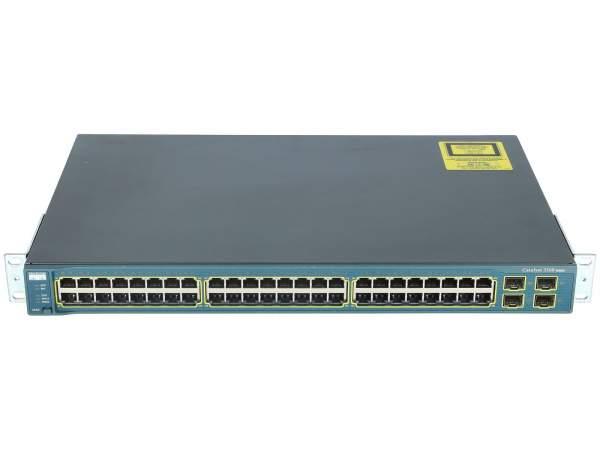 Cisco - WS-C3560-48TS-E - Catalyst 3560 48 10/100 + 4 SFP Enhanced Image