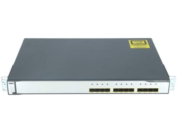 Cisco - WS-C3750G-12S-E - Catalyst 3750 12 SFP Enhanced Multilayer Image