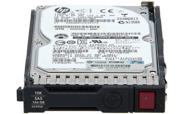 146Gb 6G SAS 15K 2.5 Inch