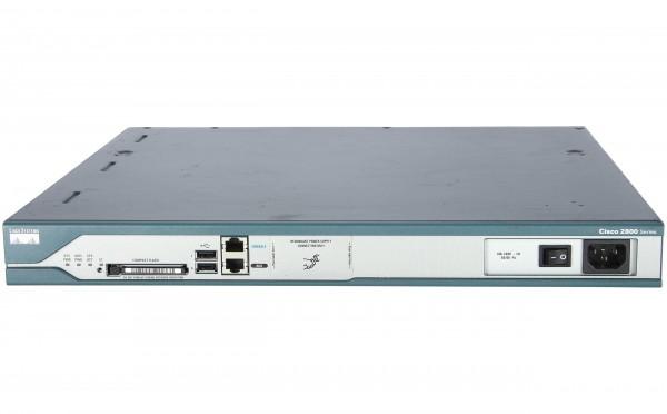 Cisco - CISCO2811-V3PN/K9 - 2811 V3PN bdle w/AIM-VPN,PVDM2-16,CCME-36,AdvIPServ,64F/256D