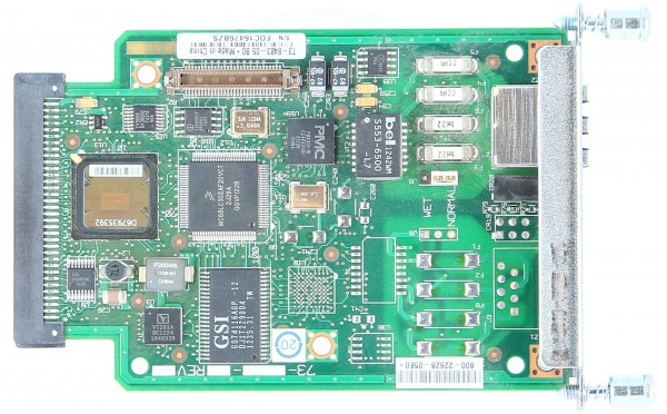 Cisco - VWIC2-1MFT-T1/E1= - 1-Port 2nd Gen Multiflex Trunk Voice/WAN Int. Card - T1/E1