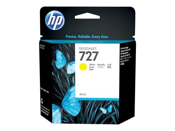 HP - B3P15A - 727 - Tintenpatrone Original - Yellow - 40 ml
