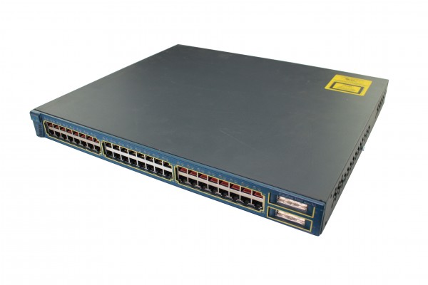 Cisco - WS-C3548-XL-EN - Catalyst 3548 XL Enterprise Edition